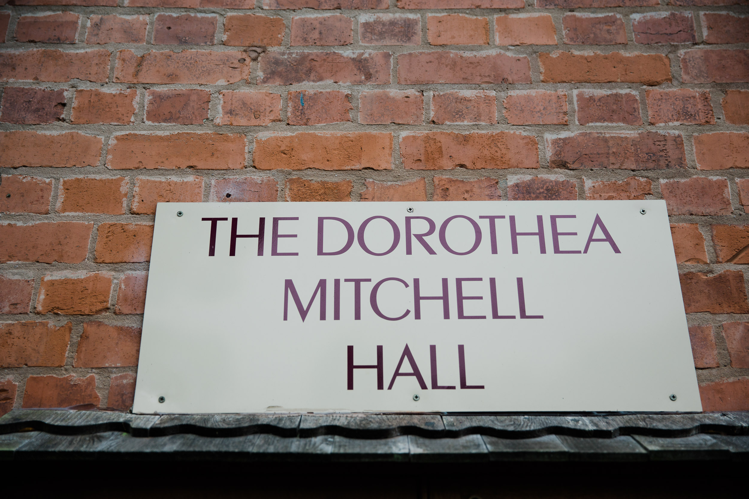 Dorothea Mitchell Hall Wedding