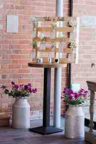 pallet wedding seating plan rustic diy wedding barn