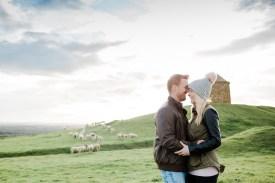 Burton Dassett Hills Pre-Wedding Shoot008-1