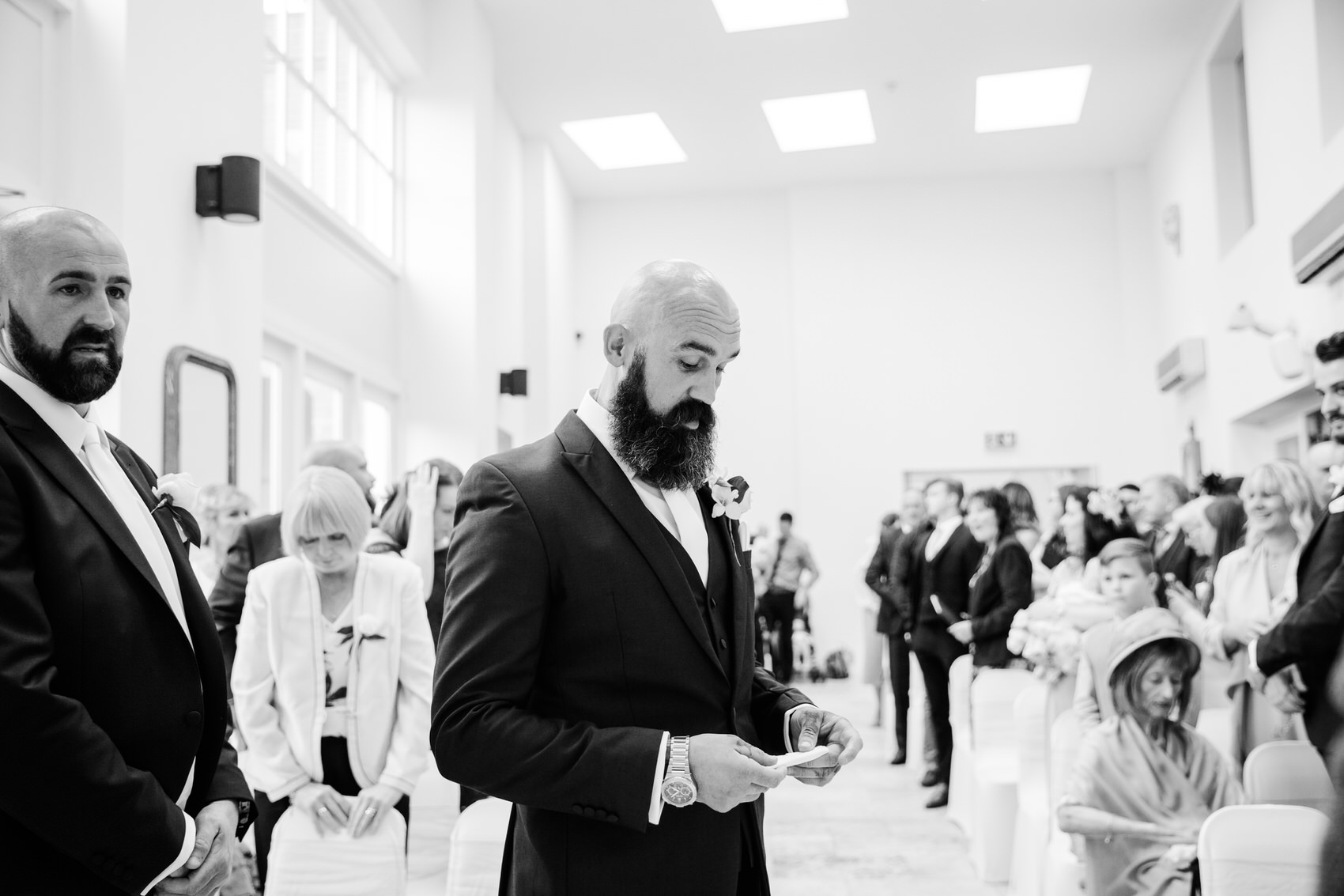 Glamorous Alternative Wedding at Fazeley Studios027