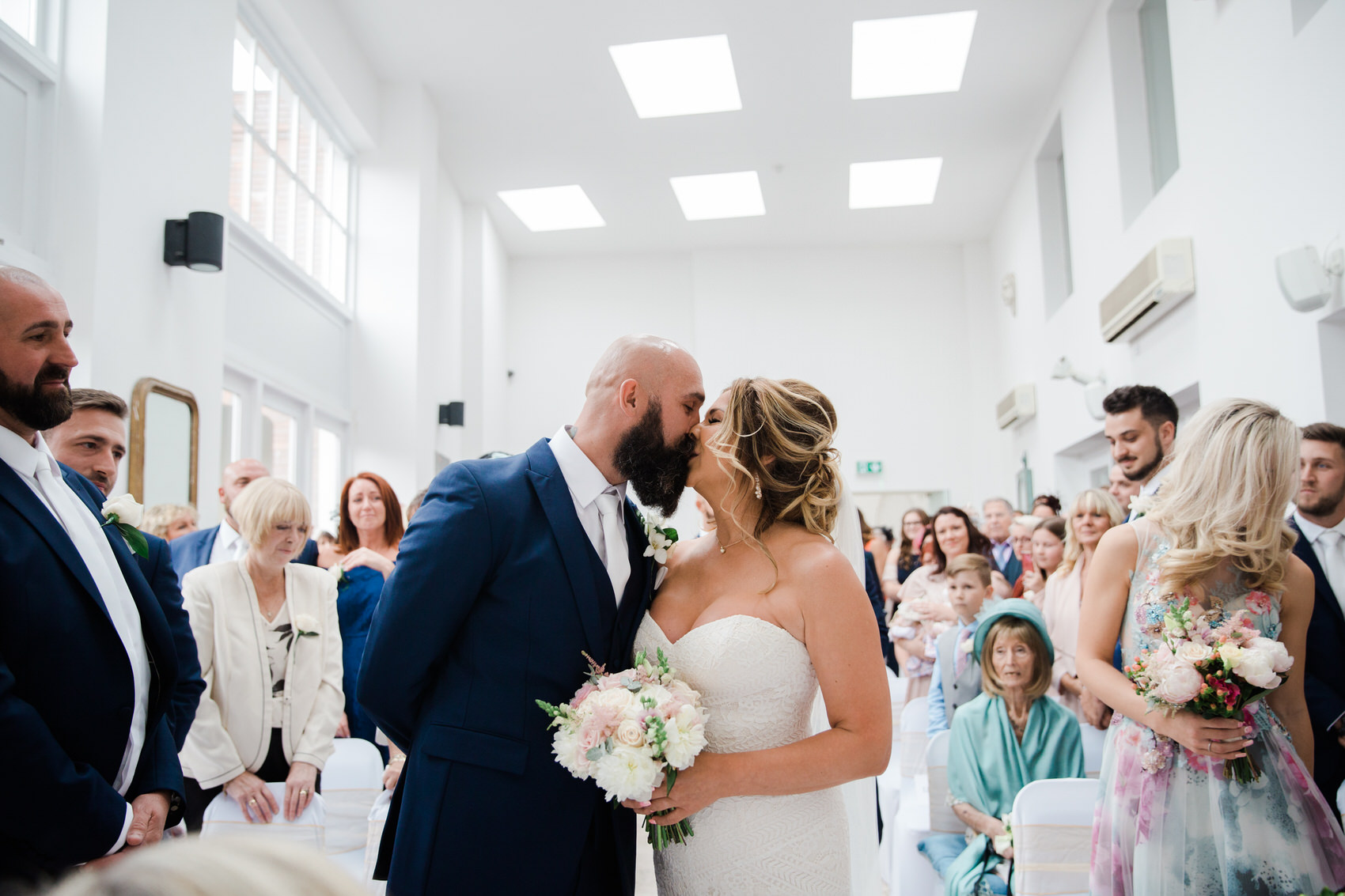Glamorous Alternative Wedding at Fazeley Studios034