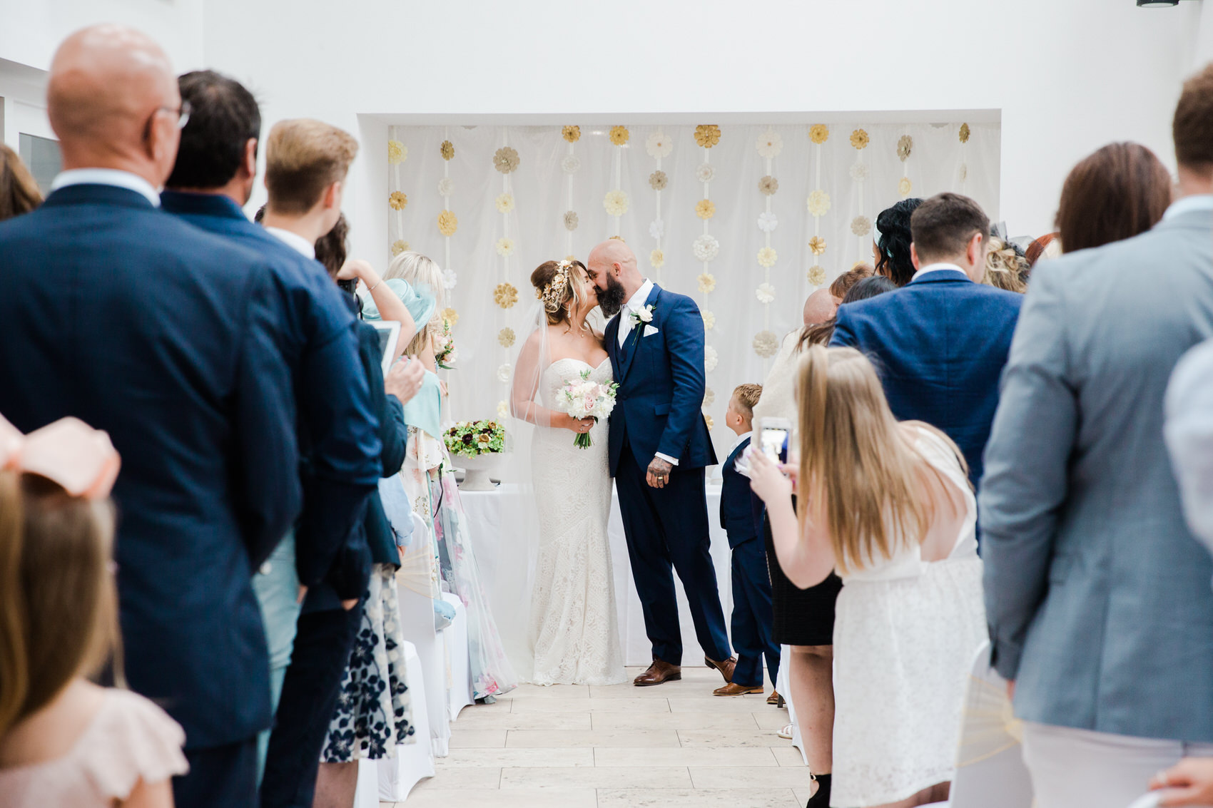 Glamorous Alternative Wedding at Fazeley Studios043