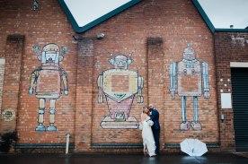 Glamorous Alternative Wedding at Fazeley Studios059