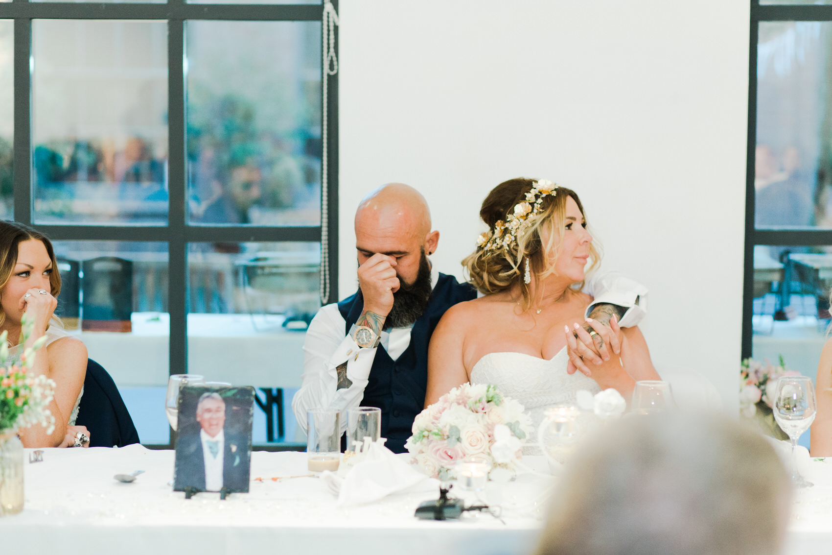 Glamorous Alternative Wedding at Fazeley Studios086