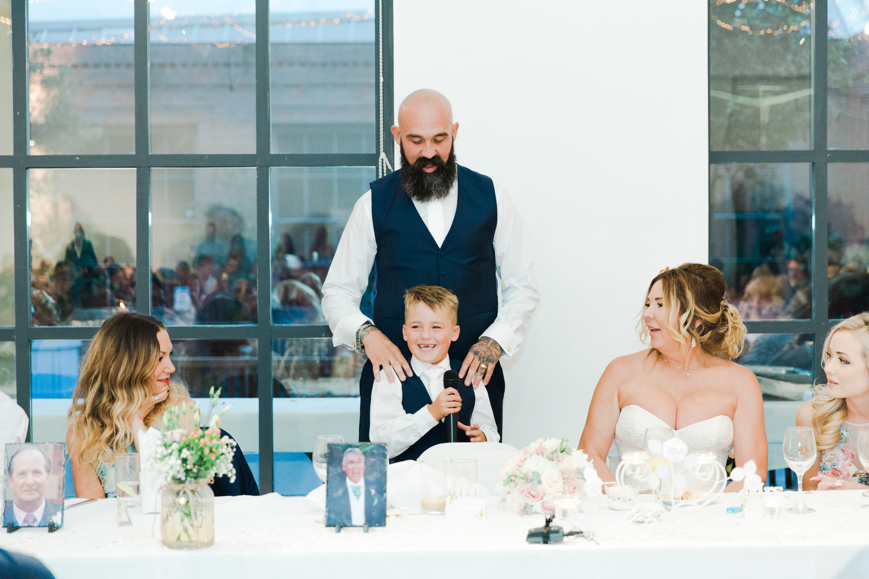 Glamorous Alternative Wedding at Fazeley Studios094