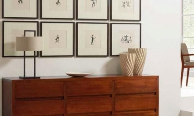 Como cuidar cuadros y muebles auxiliares