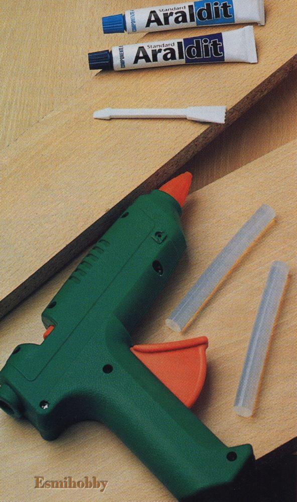 Como utilizar adhesivos y pegamentos