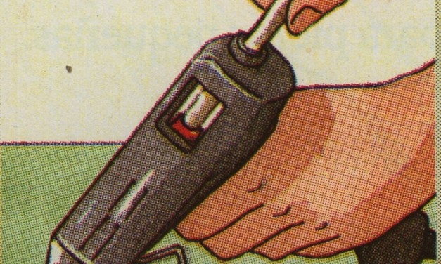 Cómo pegar madera con cola termofusible
