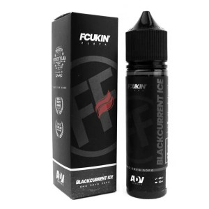 Blackcurrent Ice från Fcukin' Flava (50ml, Shortfill)