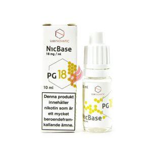 100% PG Nikotinshot, 18mg (10ml) från Chemnovatic