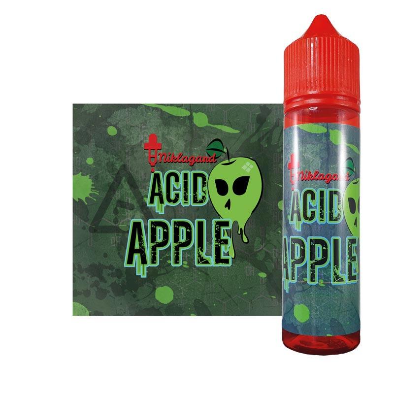 Acid Apple från Niklagard (50ml, Shortfill)
