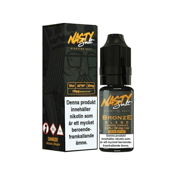 Tobacco Bronze Blend från Nasty Juice (10ml, 20mg, Nikotinsalt)