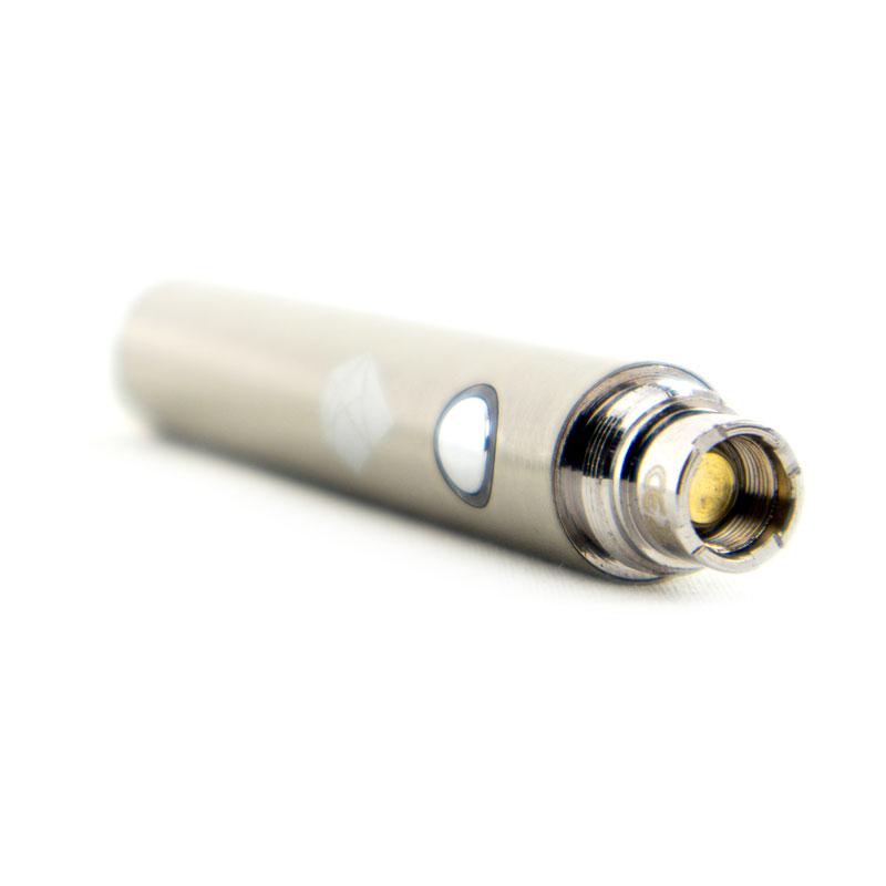 eGo-batteri från Droyp, Rostfritt stål liggande front