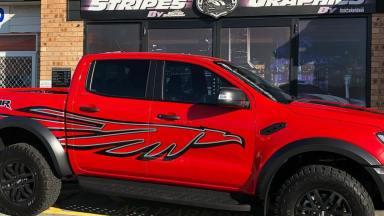 Ford Ranger - Raptor Custom Graphics