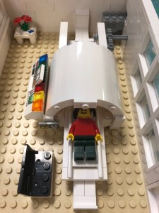 An MRI scanner made of Lego
