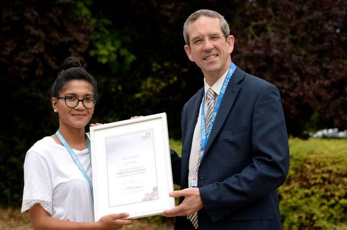 Gennine Pelayo HR Commendation Colchester
