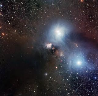 The R Coronae Australis region imaged with the Wide Field Imager at La Silla*