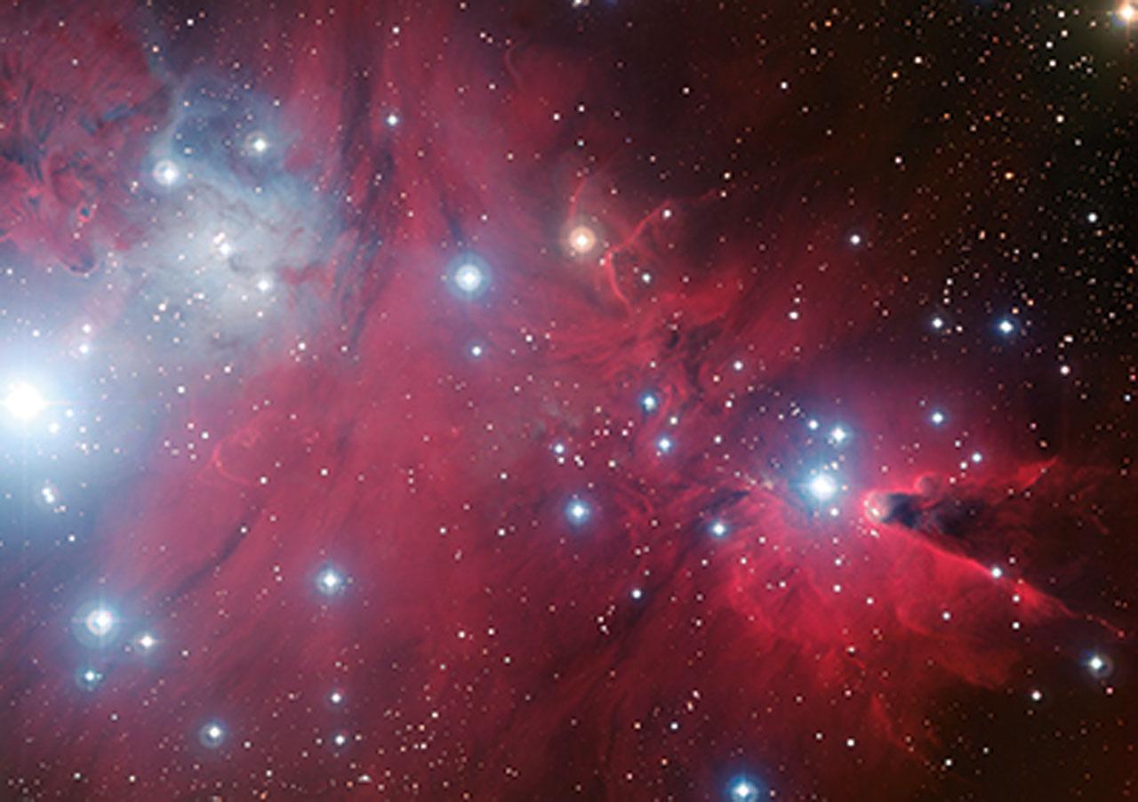 Postcard NGC 2264 ESO