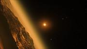 Sobrevolando el sistema planetario de TRAPPIST-1