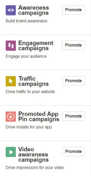 Pinterest for Business Promoted Pins