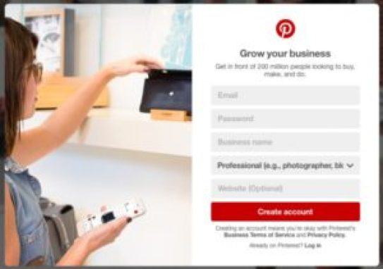 Pinterest for Business Account