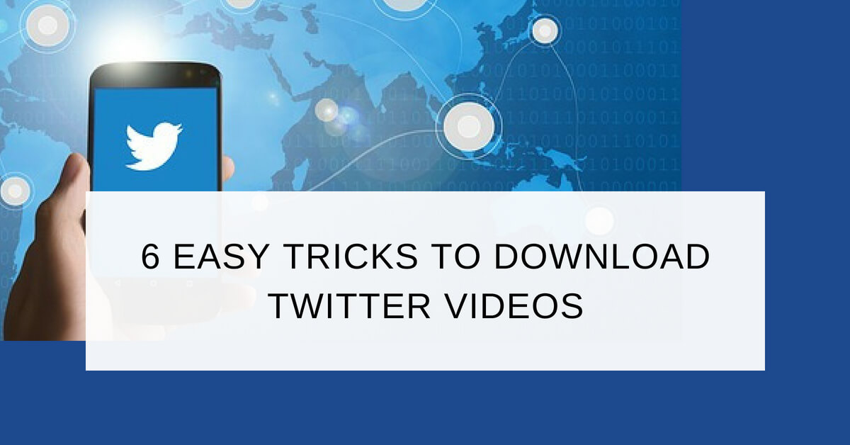 download twitter video chrome extension