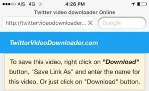 twitter video downloader online