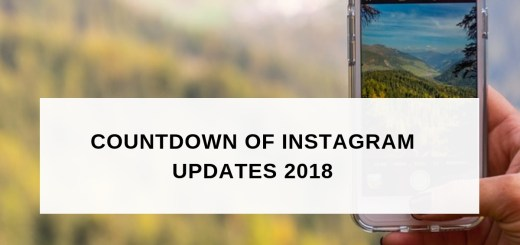 Instagram updates 2018 2019