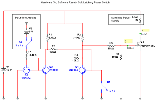 small resolution of soft latching toggle switch with active reset circuit esologic latch switch 2 circuit diagram