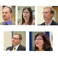 5 running for school board