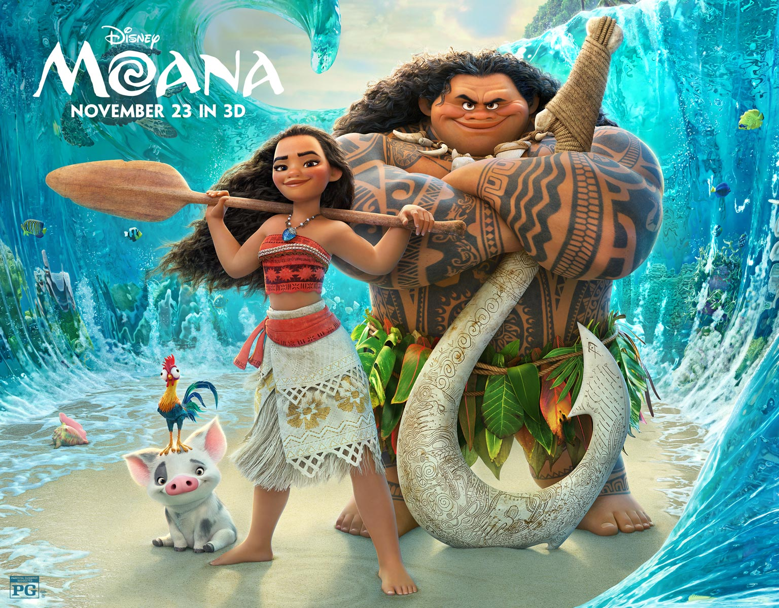 Reasons You Should Be Hyped for Disney's 'Moana'