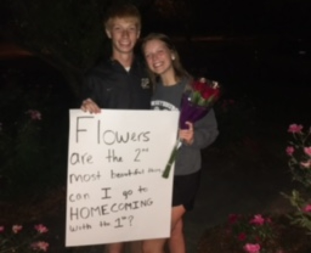 Megan Smith and Oliver Durham