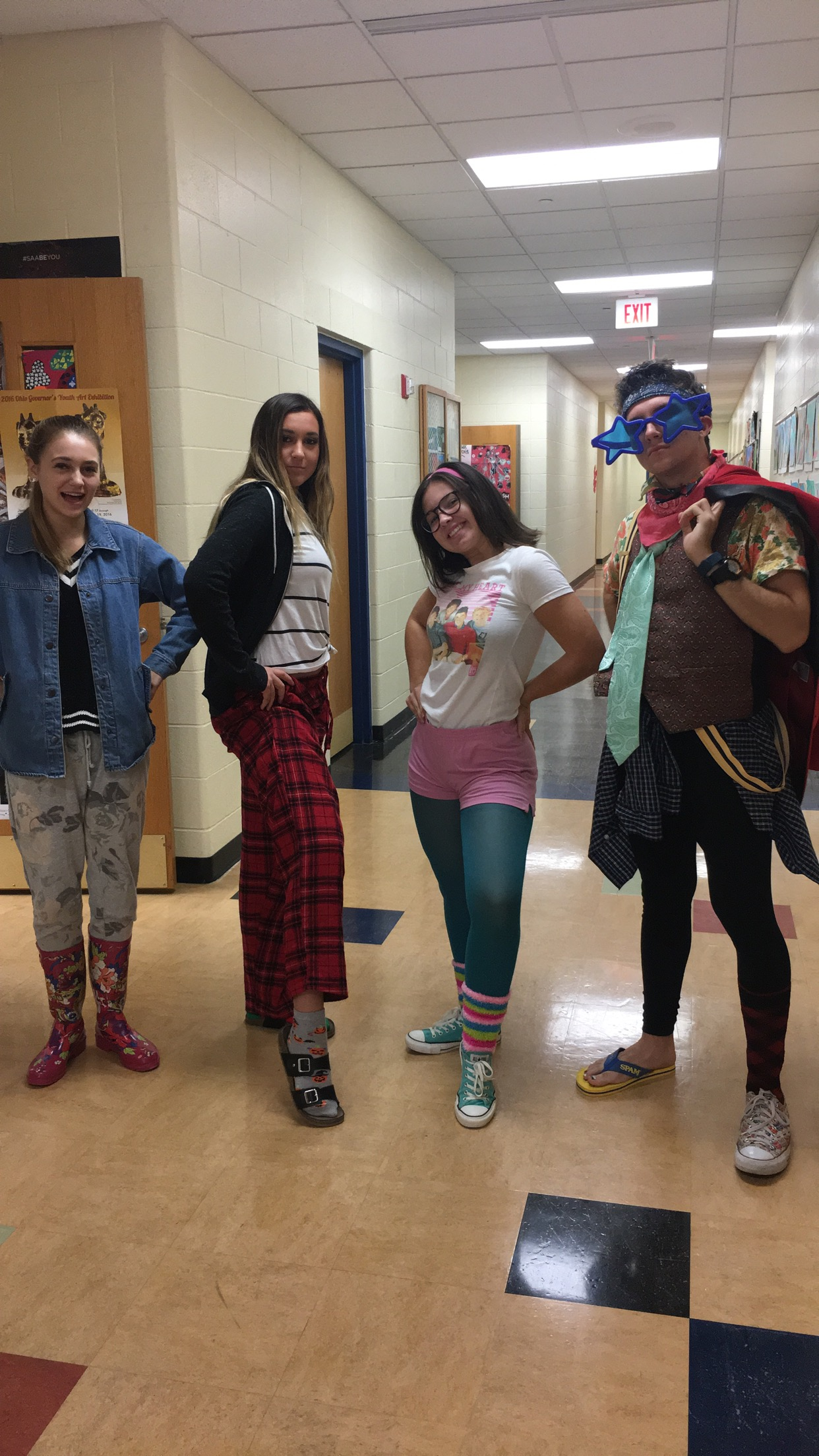 Spirit Week 2017: Fashion Disaster Monday