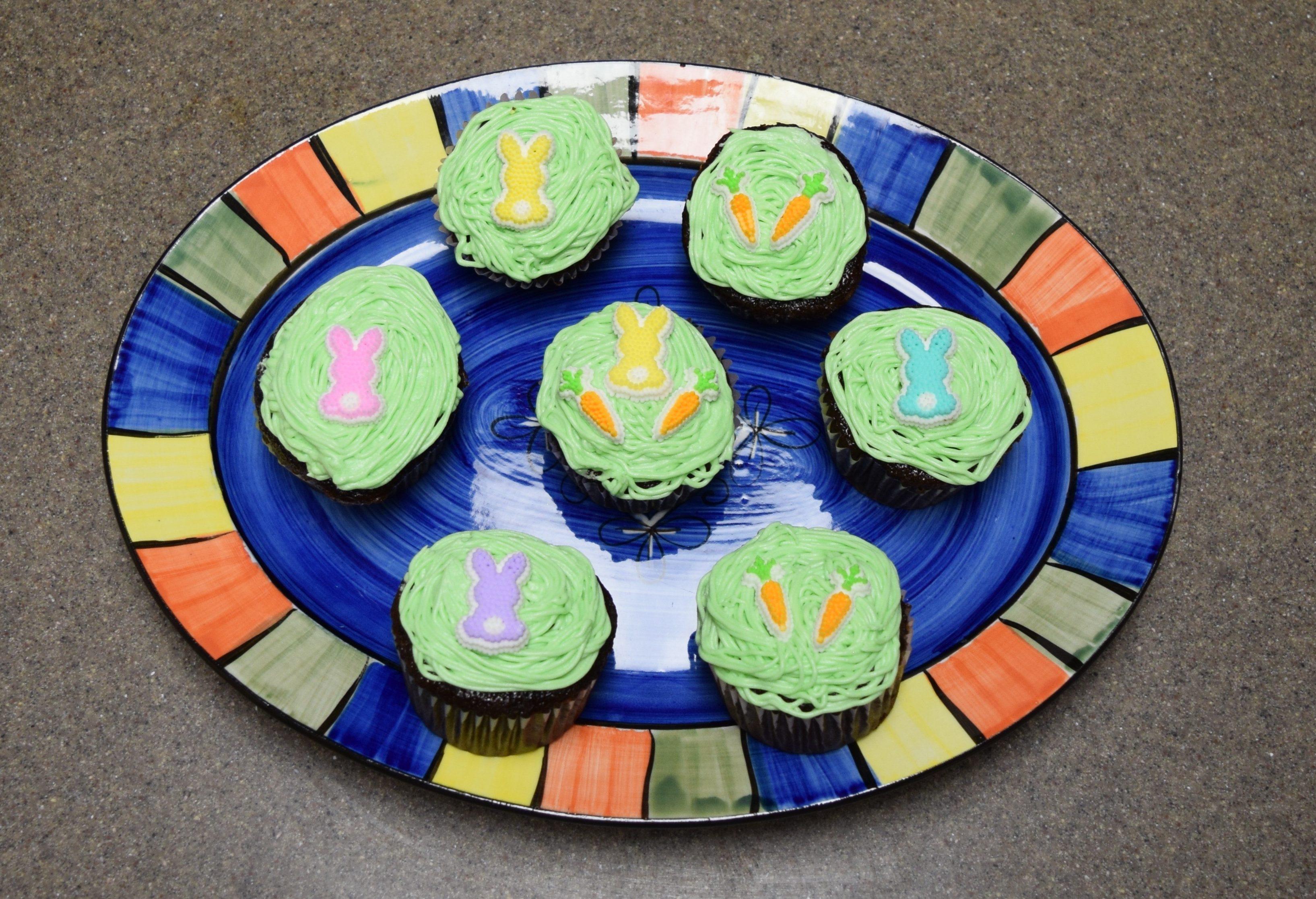 Don't be Afraid to Take Whisks: Spring Cupcakes