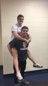 Griffin Parrill and Danny Walton, Best Bromance