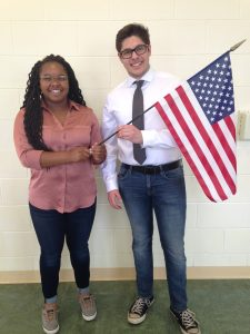 Michael Nahhas and Jalisia Goodman, Most Likely to be President