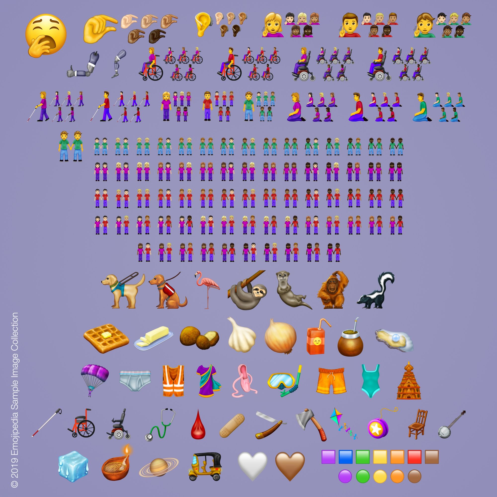 New 2019 Apple Emojis