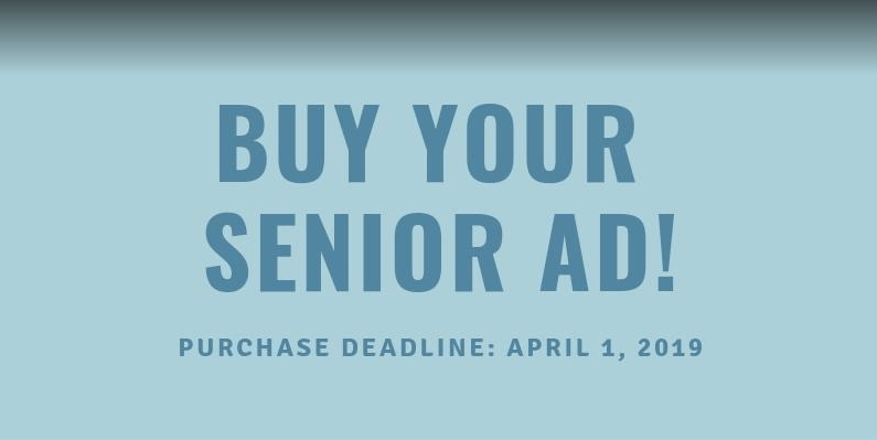 Seniors and Parents: Yearbook Wants YOU to Buy an Ad