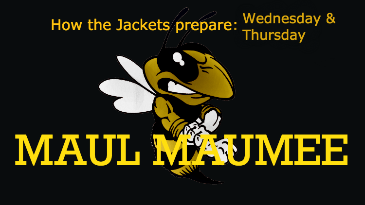 How the Jackets prepare for 'Maumee Week': Wednesday and Thursday