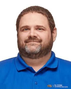 In-home advisor Chris Fiscus