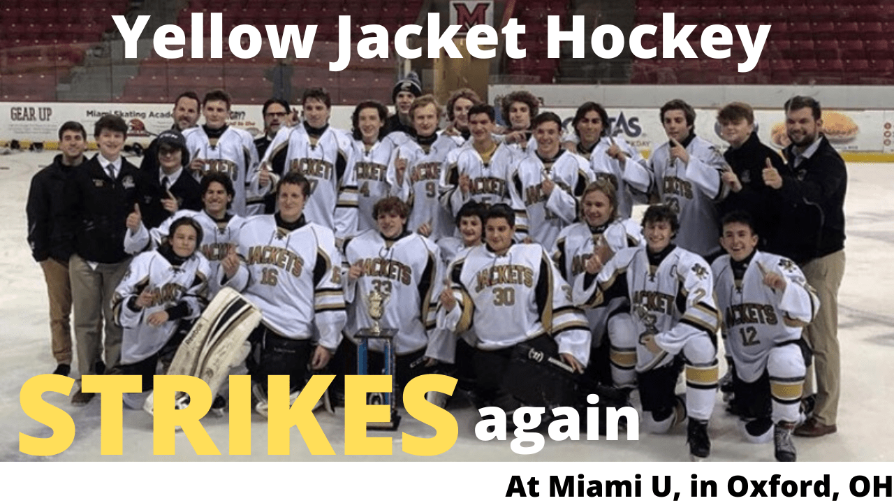 Jackets hockey strikes again!