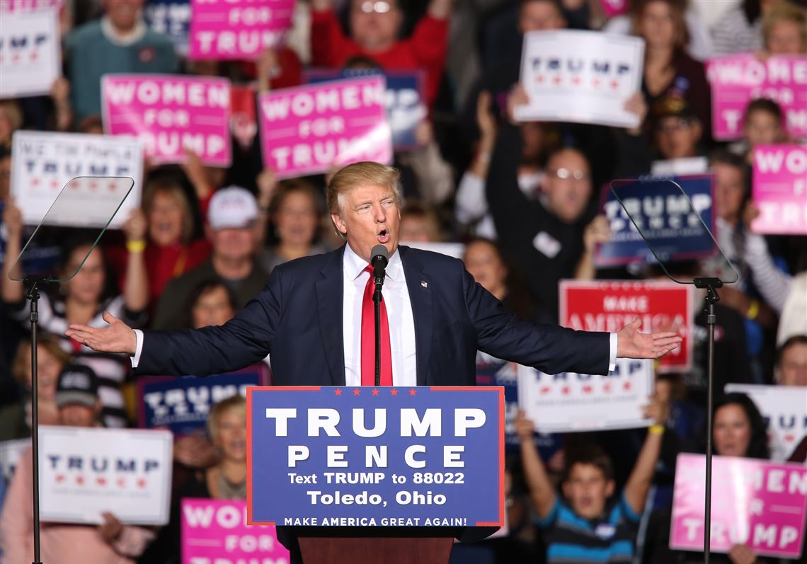 President Trump's visit to Toledo proved the amount of support northwest Ohio has for him