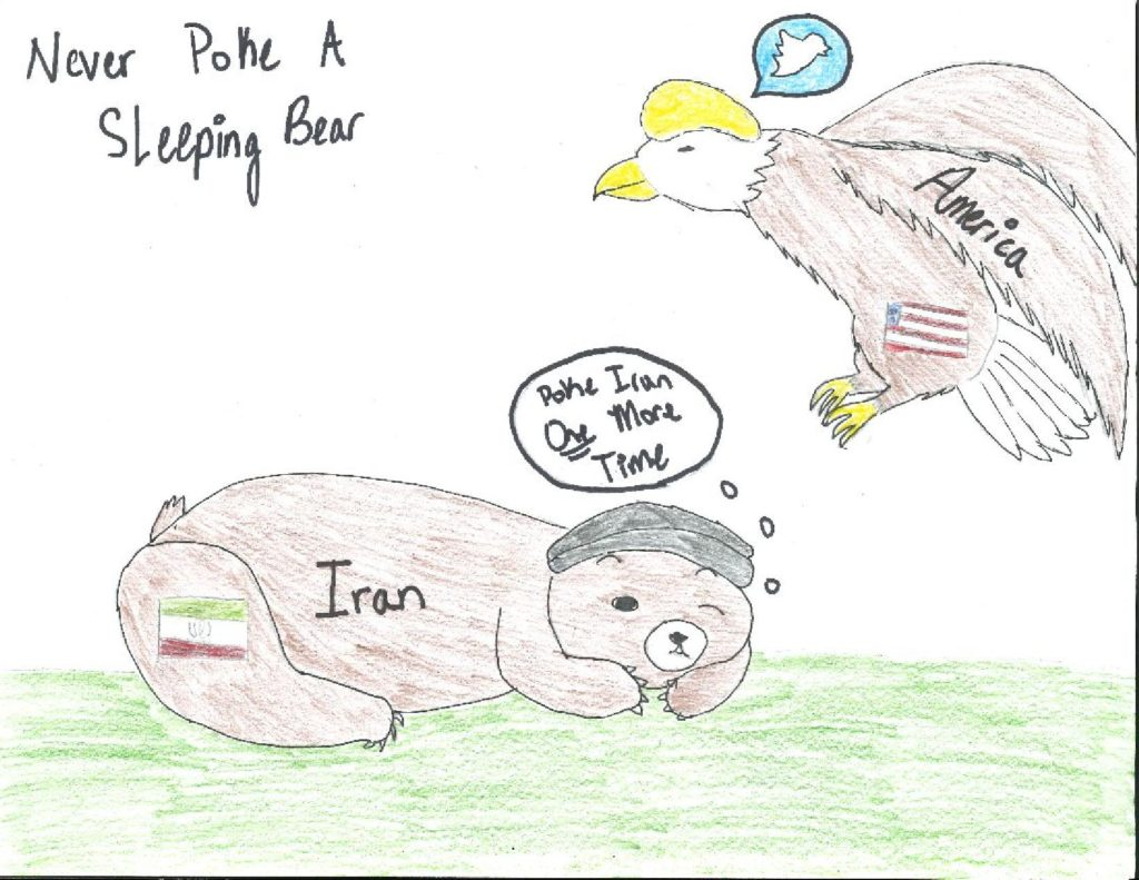 America Antagonizing Iran