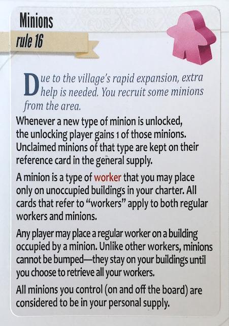 Charterstone Rule Minions