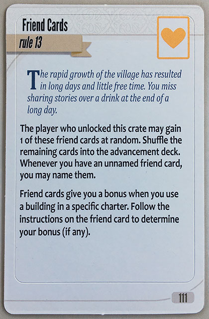 Charterstone Card 111