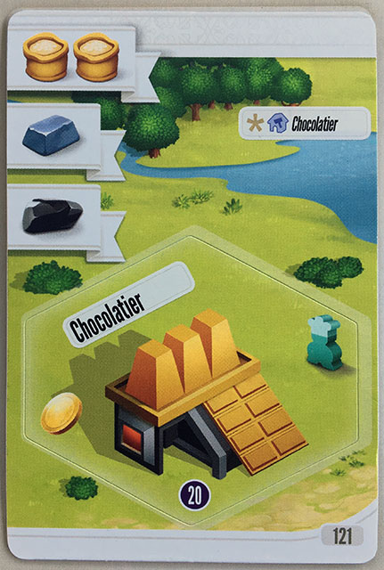Charterstone Card 121