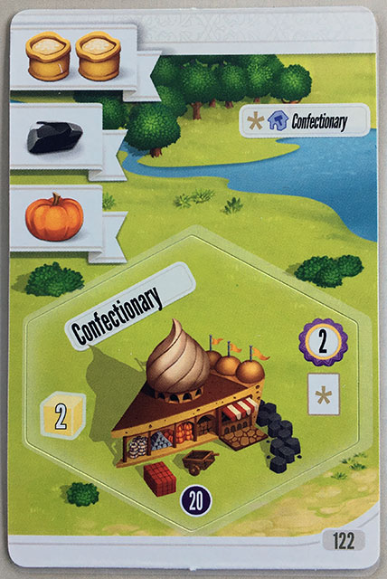 Charterstone Card 122