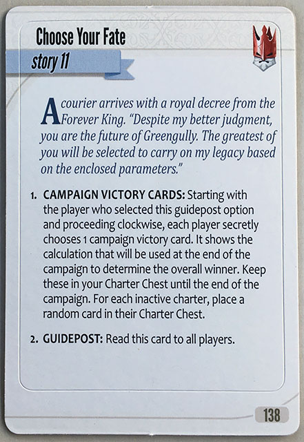 Charterstone Card 138