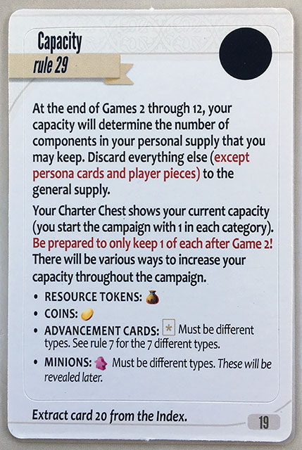 Charterstone Card 19