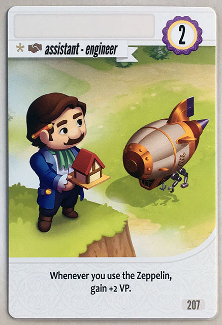 Charterstone Card 207